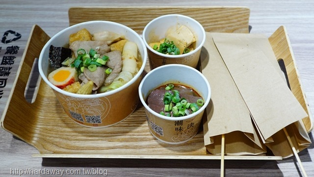 潮味決湯滷合作社餐點