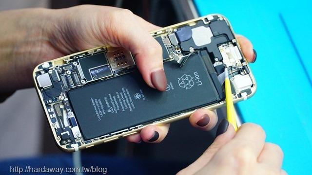 iPhone換電池