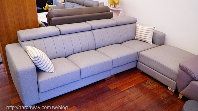 L型貓抓皮沙發