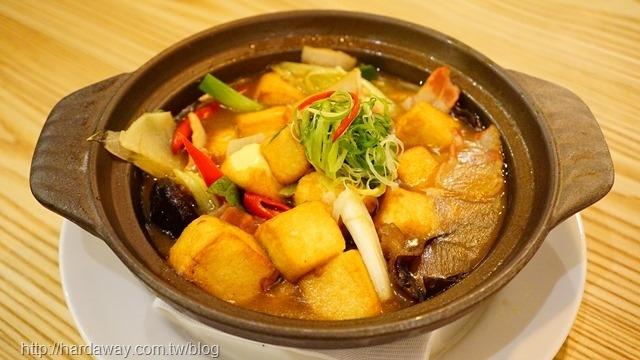 鍋燒澎家豆腐