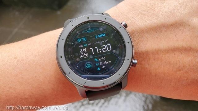 Amazfit GTR Lite智能手錶使用螢幕