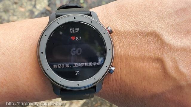 Amazfit GTR Lite智能手錶訊息通知健走模式