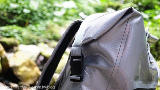bagrun三代巔峰防水後背包防水設計