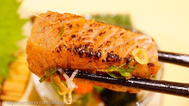 炙燒黑鮪魚大腹肉