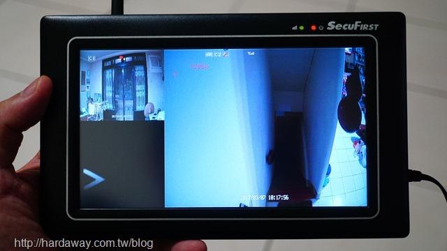 SecuFirst DWH-A07R監控用7吋觸控螢幕