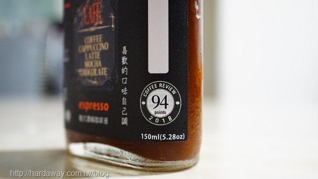 美國世界權威級咖啡評鑑94分義式配方豆