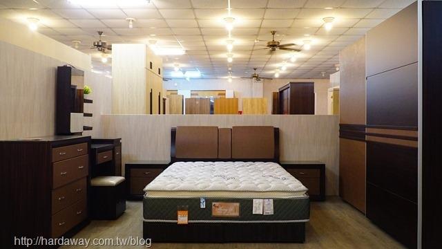 勝億家具臥室整體擺設