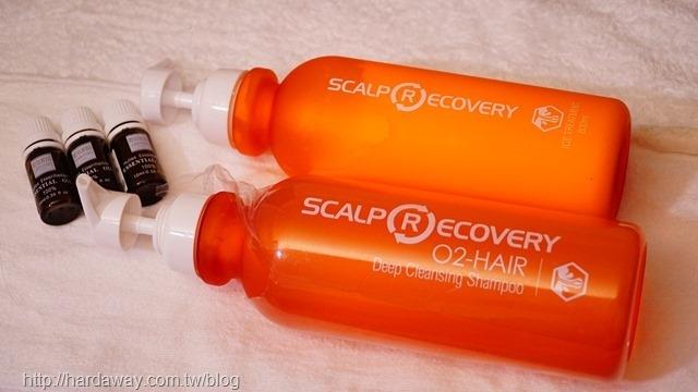 日本ScalpRecover頭皮洗護產品