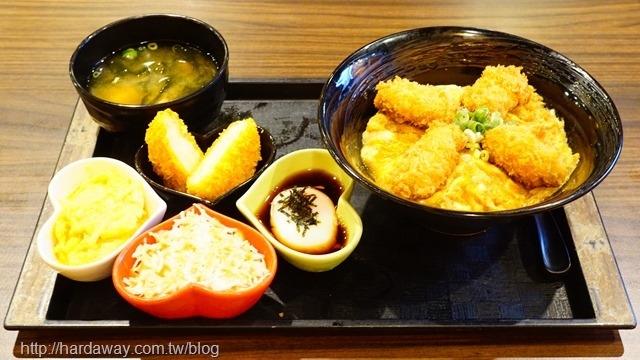 海洋炸牡蠣丼心動套餐