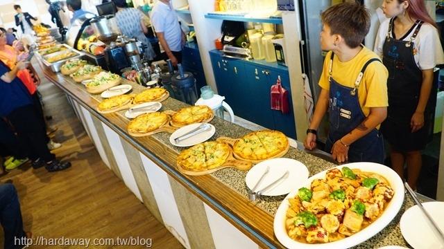 夢想地圖CAFE海景會館餐點