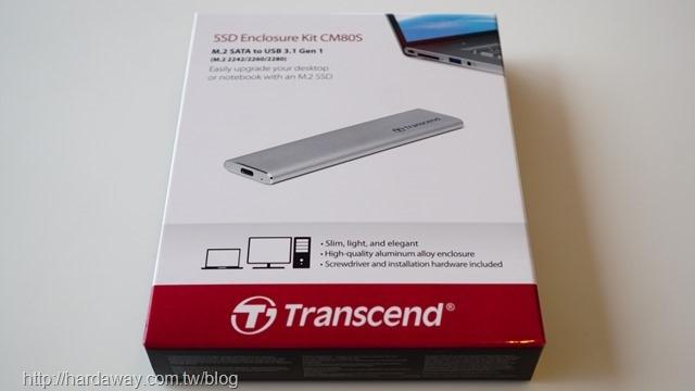 創見TS-CM80S M.2 SSD外接盒套件