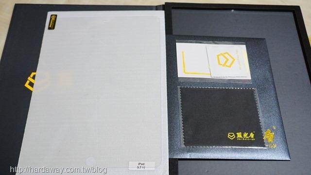 藍光盾玻璃保護貼內容物