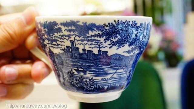 青花瓷咖啡杯