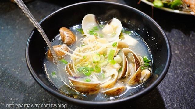薑絲蛤蠣湯