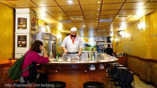 雙鶴鐵板燒林口長庚總店用餐區