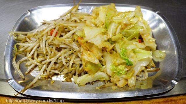 炒梨山高麗菜