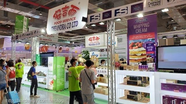 台北國際烘焙暨設備展安吉而攤位