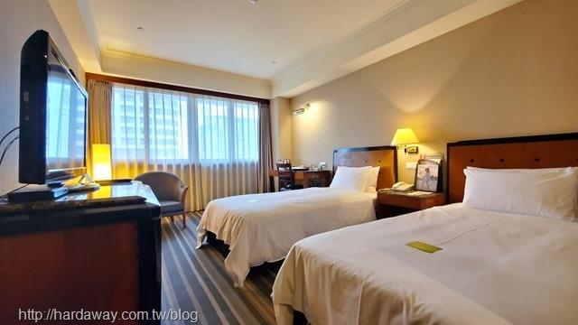 全國大飯店精緻雙人房