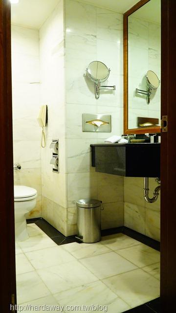 全國大飯店精緻雙人房浴室