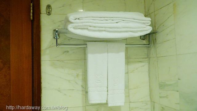全國大飯店精緻雙人房盥洗備品