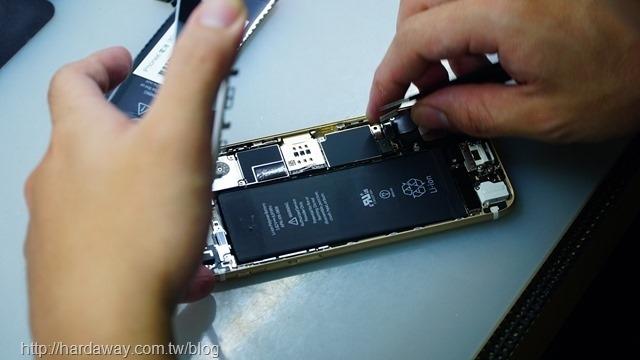 鼎威蘋果維修換電池