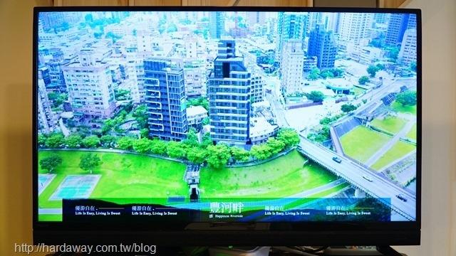 豐河畔實景俯瞰圖