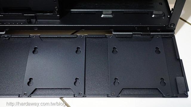 聯力LANCOOL II MESH機殼安裝2.5吋SSD