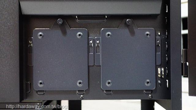 聯力LANCOOL II MESH機殼安裝2.5吋固態硬碟
