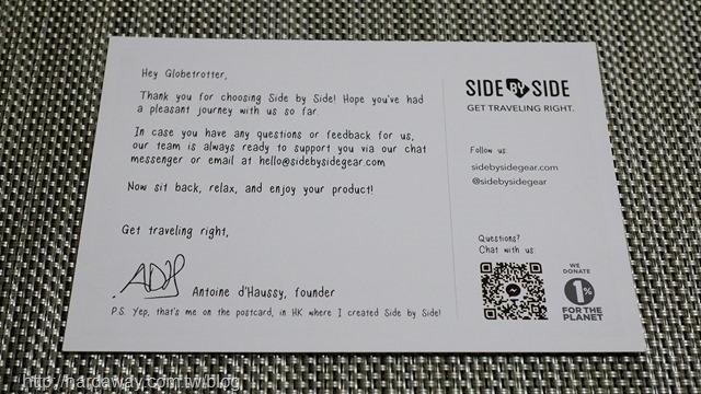 感謝明信片