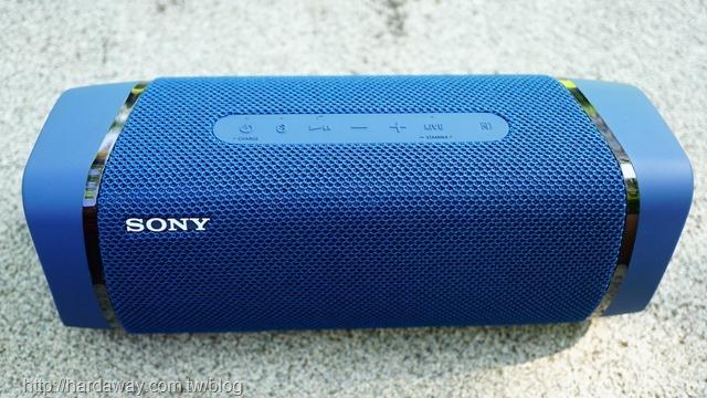 Sony可攜式藍牙喇叭SRS-XB33