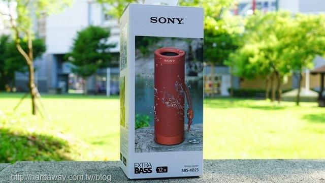 Sony可攜式藍牙喇叭SRS-XB23