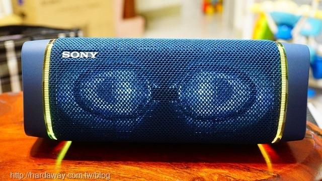 Sony SRS-XB33燈光效果