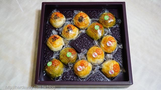 彭成珍餅舖蛋黃酥三兄弟禮盒