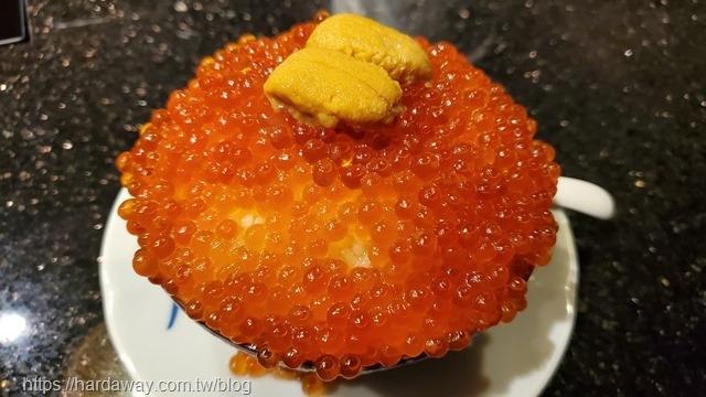 爆卵海膽飯