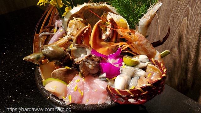 囍聚精緻鍋物海鮮盤