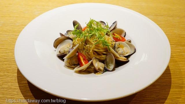 塔香白酒蛤蠣麵