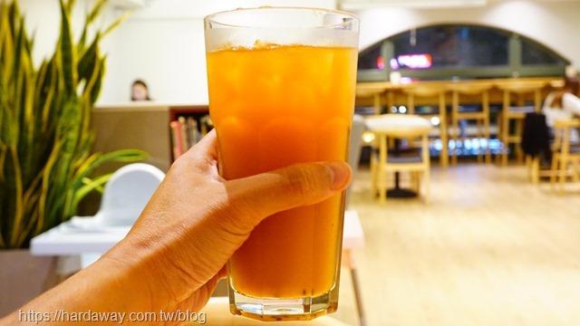 冰熱帶水果茶