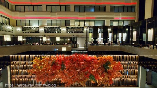 德立莊酒店魅麗海中庭餐廳