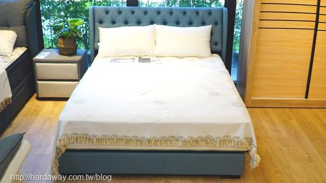 日本直人木業軟包床組