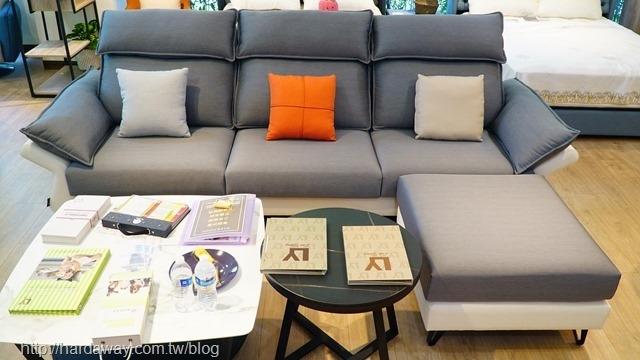 日本直人木業L型涼感沙發