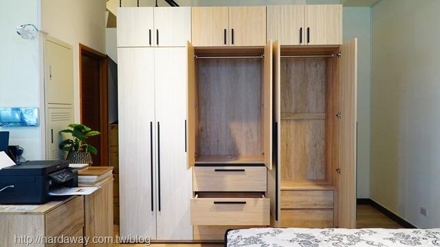 日本直人木業家具衣櫃