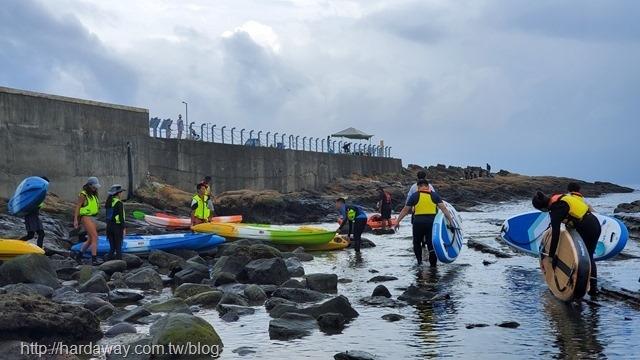 潮境海灣划獨木舟