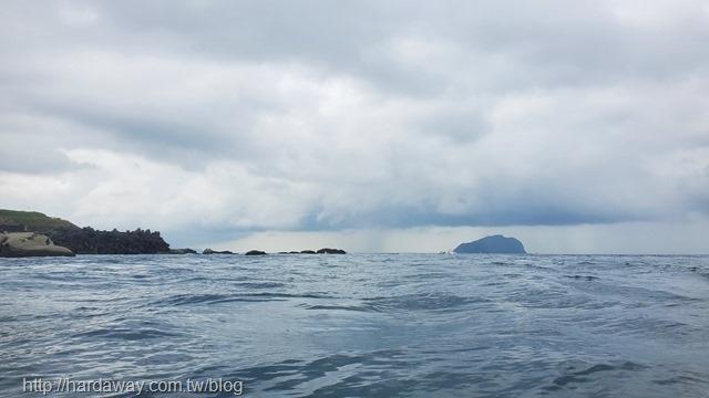 海上看基隆嶼