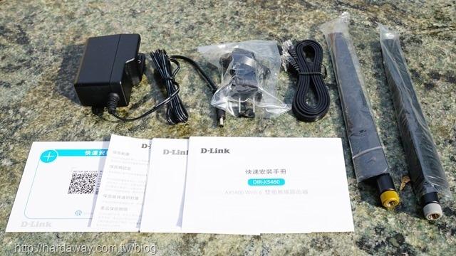 D-Link DIR-X5460配件