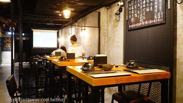 獅旨日式餐酒館環境