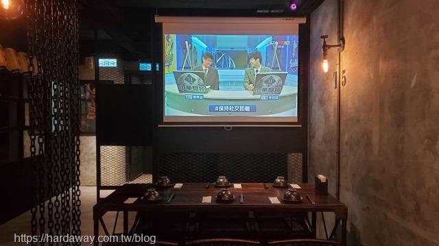 獅旨日式餐酒館空間