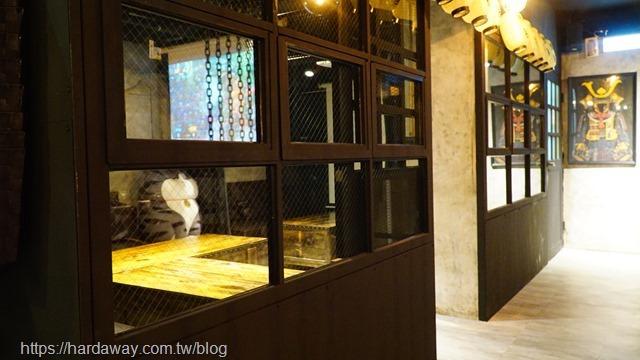 獅旨日式餐酒館包廂