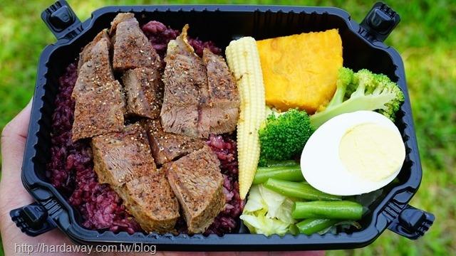 U.S.D.A.特選舒肥板腱牛排餐盒
