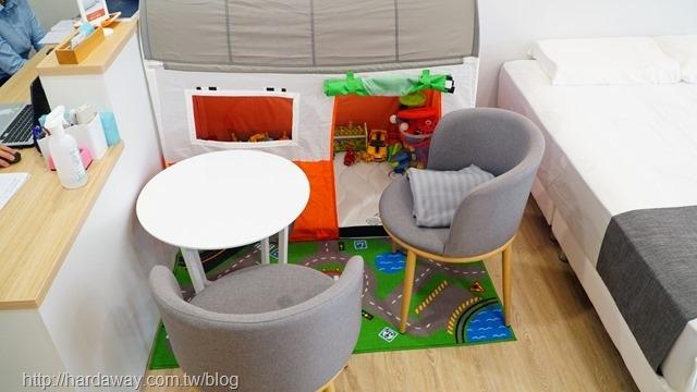 橘家床墊兒童遊戲區
