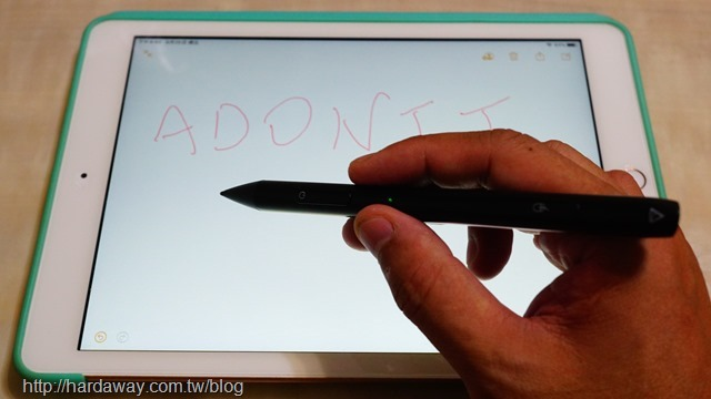 Adonit Note-M觸控筆功能